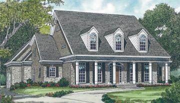 Faircrest home, front elevation